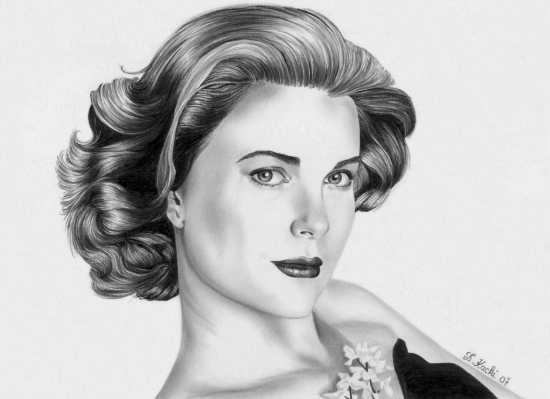 Grace Kelly par DelphineK